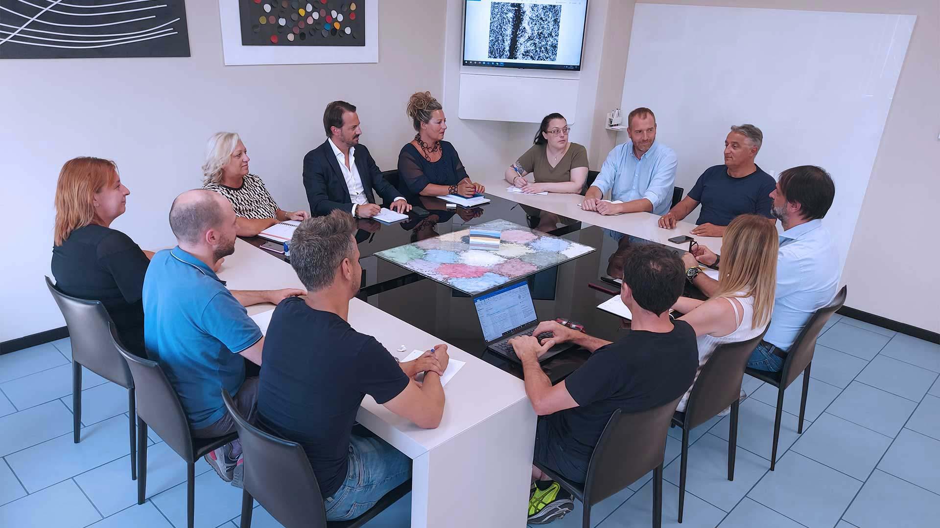 Un team di persone appassionate e competenti, ogni giorno al servizio dei clienti